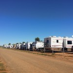 Camping trackside at Boulia Camel Races