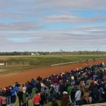 Crowd gathers at Boulia Camel Races