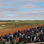 Crowd gathers at Boulia Camel Races 2