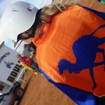 Fashion on the track at the Boulia Camel Races
