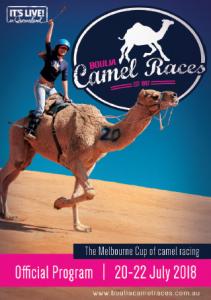 Boulia Camel Races front cover 2018